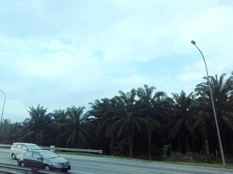 マラッカへの高速道路