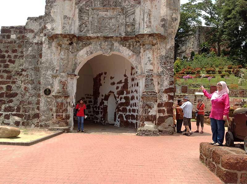 サンチャゴ砦の外観