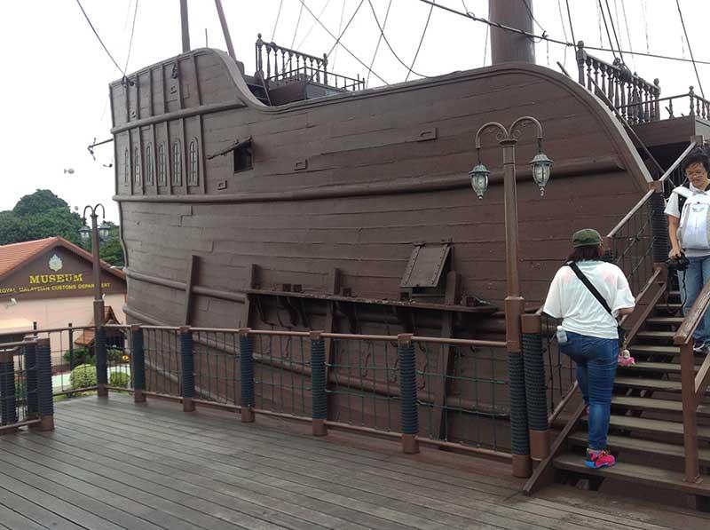 マラッカの海洋博物館