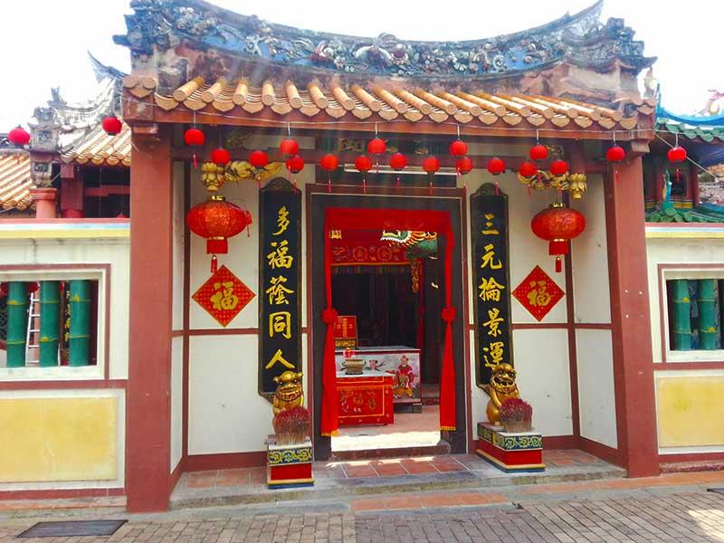 マラッカにある中華の店「和記」の入り口
